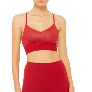 new Alo Yoga Lavish bra XS